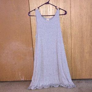 Light gray dress
